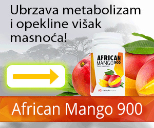 AfricanMango900 - gubitak težine